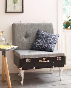 Vintage Mobel Selber Machen So Bauen Aus Einem Koffer Einen Sessel