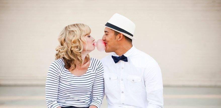 Küssen ist der Kitt, der glückliche Paare zusammenhält.