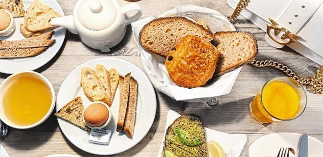 Brunch in Zurich: Le Pain Quotidien