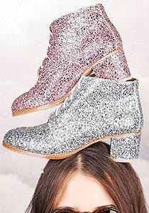 Bezaubernd: Glitzer-Schuhe von L'F Shoes