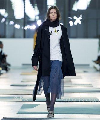 Lida Noba an der Mode Suisse 11.