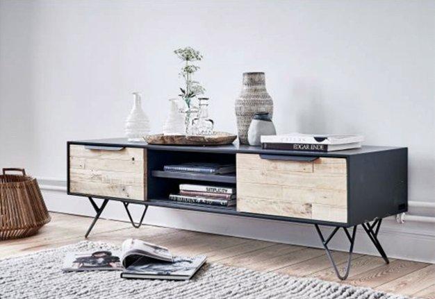 Einrichtungstipp: Flache und luftige Möbel lassen die Wohnung grösser wirken.