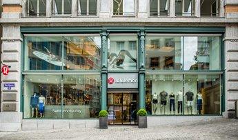 Lululemon der Sportbekleidungs Laden in Zürich