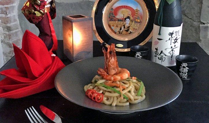 Eigene Kreation des Mashida Restaurant