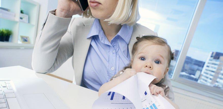 Mompreneurs: Karriere dank Selbstständigkeit nach der Geburt?