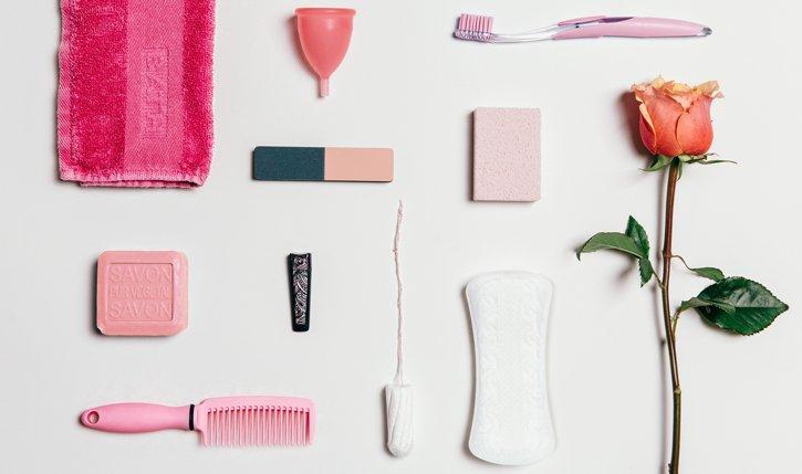 Wir die Menstruationstasse im Bad bald so selbstverständlich sein wie ein Tampon?