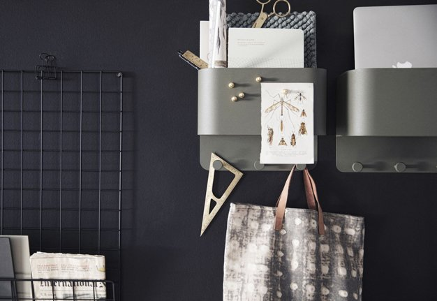 Einrichtungstipp: Setze auf Möbel die Stauraum bieten. ordnung schafft Struktur und Harmonie.