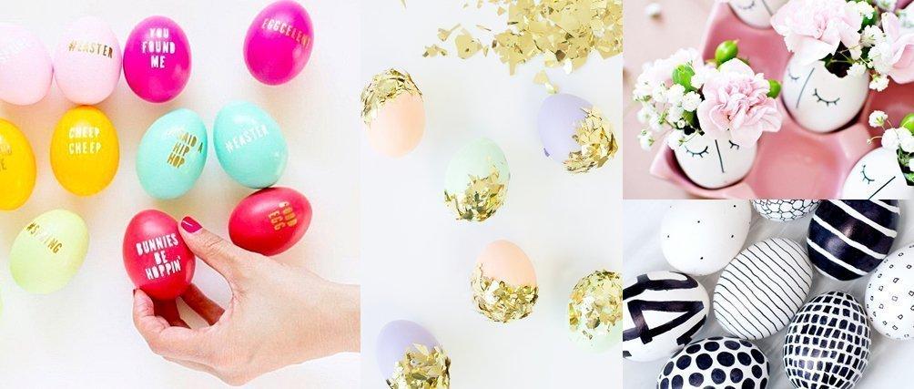Ei, Ei, Ei! 7 Ideen zum Ostereier färben