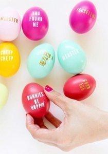 Ei, Ei, Ei! Neue Ideen zum Ostereier färben