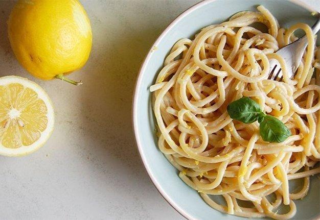 Pasta al limone: Ein Teller Dolce Vita, bitte!