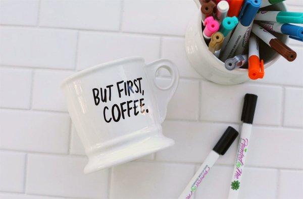 Personalisierte Kafeetasse selber machen