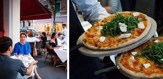 Pizzeria Zürich: Cucina