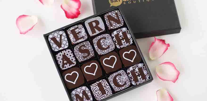 Geschenke aus Schweizer Schokolade: Say Chocolate