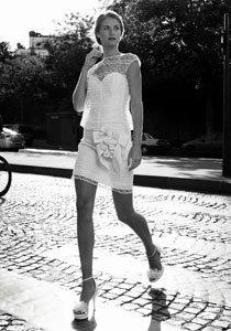 Schöne kurze Hochzeitskleider: Zeigt her eure Beine!