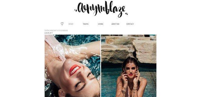 Modeblog: Anymblaze