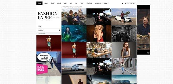 Modeblog: Fashionpaper