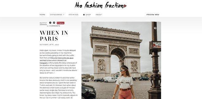 Modeblog: The Fashion Fraction