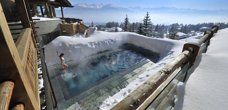 Das sind die schoensten Schweizer Wellnesshotels