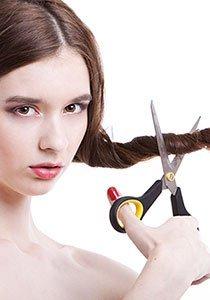 5 idiotensichere Methoden die Haare selber zu schneiden