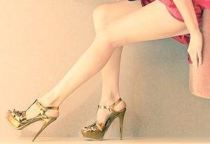 Sexy High Heels richtig gehen