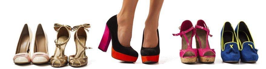 Frau kann ein ganzes Lexikon damit füllen: ihre Schuhe.