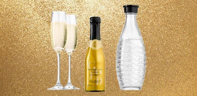 Sodastream Sparkling Gold: Der erste Prosecco-Sirup für zu Hause