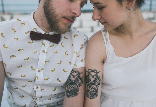 Beauty Talk: Passt ein Tattoo zum Hochzeitskleid?
