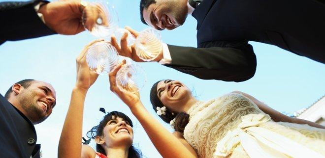 Ohne Trauzeugen gibt es keine Hochzeit.