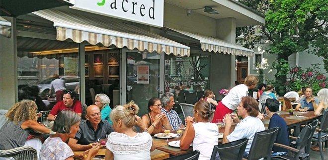 Vegan Restaurant Zürich: Sacred