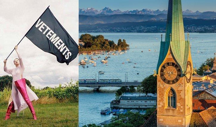 Das in-Label Vetements zieht von Paris nach Zürich. 5 Gründe warum Zürich das bessere Paris ist.