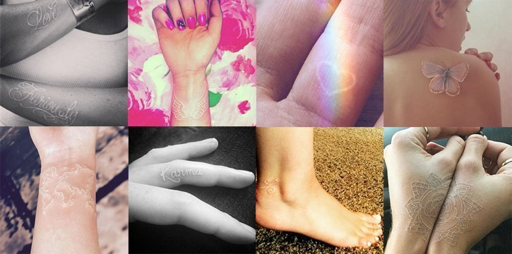 Weisse Tattoos 9 Dinge Die Du über Den White Ink Trend Wissen Musst