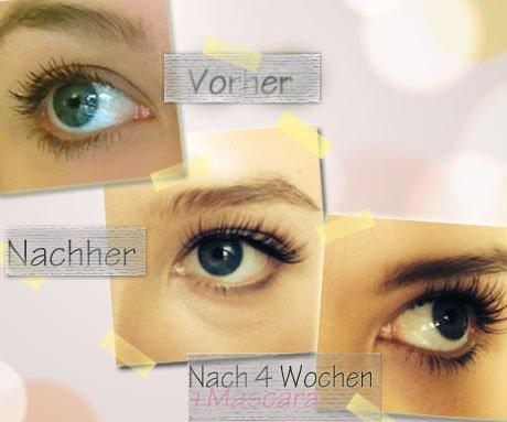 Falsche Wimpern: dauerhafte Wimpernverlängerung so lange hält sie