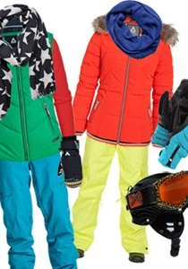 Auf die Piste, fertig, los! Wintersport Outfits für die Berge