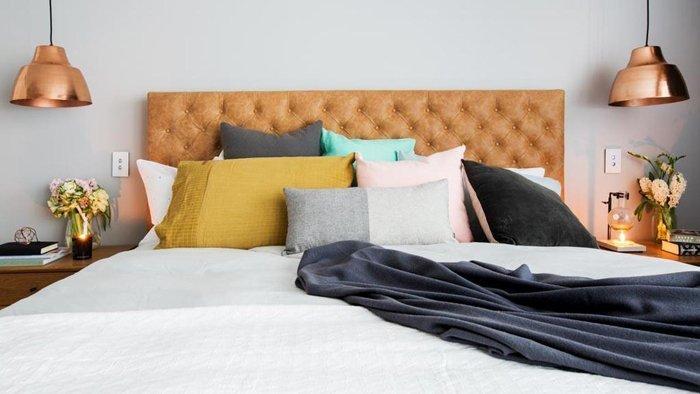 Wohnidee: Bett mit Bedheads aufmöbeln