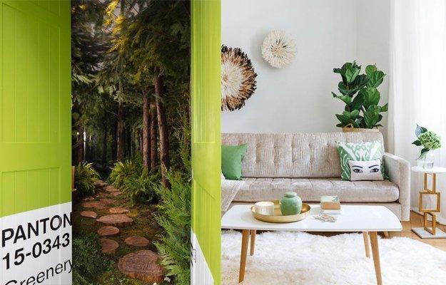 Wohntrend Greenery bringt Frische und Freude nachhause.