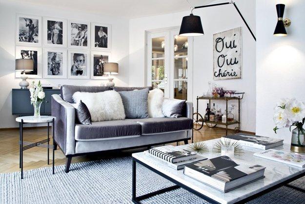 Wohnzimmereinrichtung von Delia Fischer.