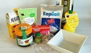 Die Zutaten für Badekugeln findet man fast alle im Supermarkt.